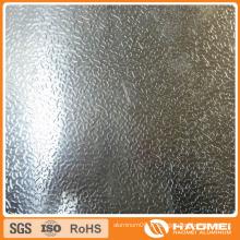 Bobine en aluminium gaufré en forme de diamant 1100 1060 3003