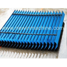 Trocador de calor Eliminador de tração para torre de resfriamento