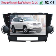 Lecteur DVD de voiture Android pour Toyota Highlander