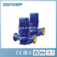 Vertical pipeline self priming drain water pump