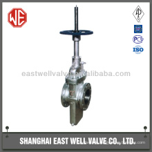 Stainless steel single disc flat plate gate valve