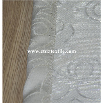100% poliéster Jacquard Embroidery Like Window Curtain
