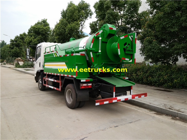 5.5 CBM Vacuum Fecal Suction Trucks