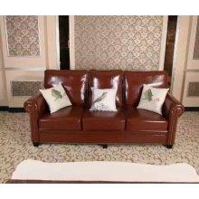 América cuero sofá, sofá seccional, sofá de Amazon (HA06)