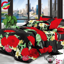 100% polyester bedding fabric sublimation 3D printing for sale