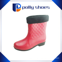 Hot Sale Fashion Women PVC Plastic Rain Shoes
