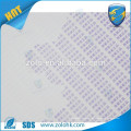 Printable meet water color change Material de papel frágil Material duplo anti falso para telefone celular iphone