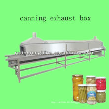 Fully automatic tin exhauster