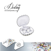 Destiny Jewellery Crystal From Swarovski Mother′s Day Pendant Earrings Pearl Set