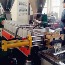 Noodles type plastic pelletizing line