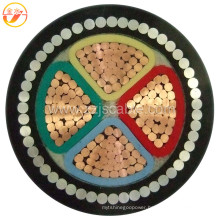 XLPE/Swa/PVC Armoured XLPE Cable 4 Core Power Cable