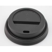Couvercle de tasse en papier plastique standard pour café chaud