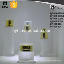40ml 60ml 100ml 120ml Milchglas Lotion Flasche