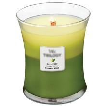 Bougie de fête en cire de soja bio parfumée parfumée