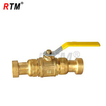 Brass Double Mouth Gas Ball Valve