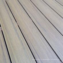 Plancher de jardin en bois composite en plastique WPC