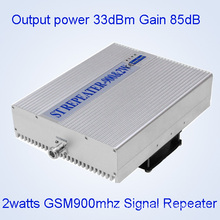 5watts GSM900MHz Mobile Signal Repeater, 33dBm GSM900MHz Cell Phone Signal Booster, GSM/Dcs/WCDMA Wide Triple Band Signal Repeater/ 2g 3G Signal Booster