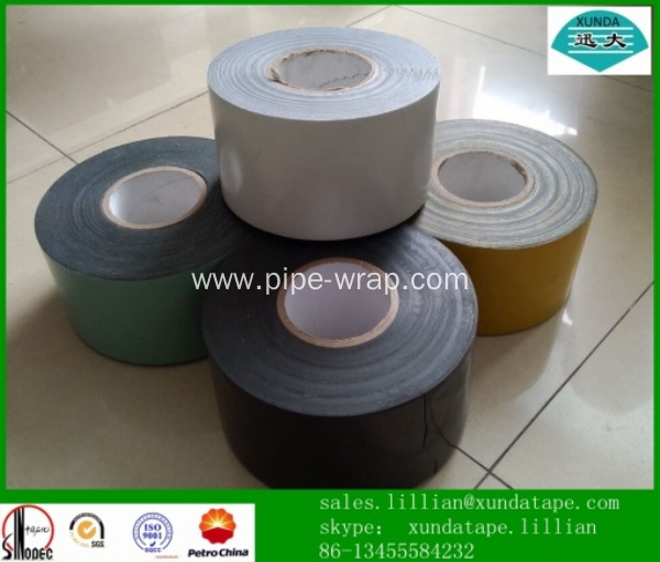 High adhesion self adhesive bitumen tape