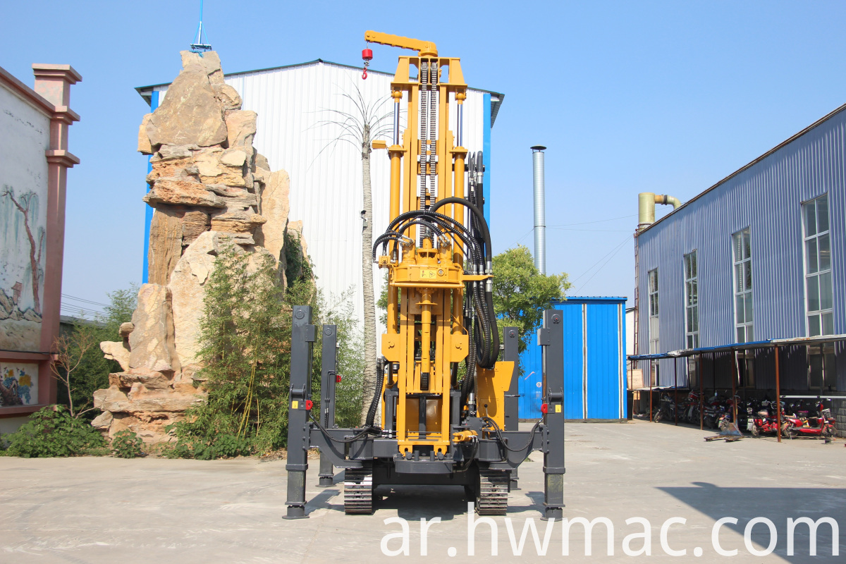 water well drilling rig canada