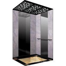 Ascenseur à passager de luxe avec petite machine-salle