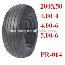 Neumático de la carretilla 13x400-6 para la carretilla / el bote inflable