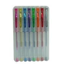 Paquet de papeterie en gel Glitter Gel (M201G) 8 Pack