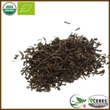 Bio certifié certifié de deuxième année Ripe Loose Leaf Pu Er Tea