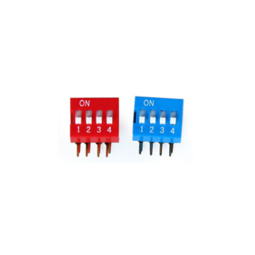DA-04 DIP SWITCH 3-4 POSICIÓN PITCH 2.54MM
