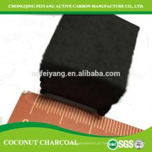 Mercado do preço do briquett da imprensa da mão de 22mm do carvão vegetal de coco
