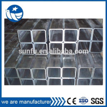 Low carbon hollow section black welded erw square iron tube