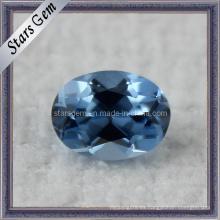 119 # azul de color sintético zafiro Spinel piedra para joyería