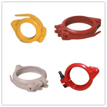 Quick Pipe Clamp, Concrete Pump Rubber Hose Clamp