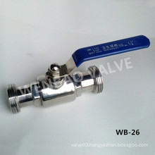"""SUS304 11/4"""" Clean Ball Valve for Water"""