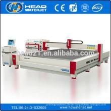 China Hersteller international alle Maschinentypen Marmor Wasserstrahl Schneidemaschine