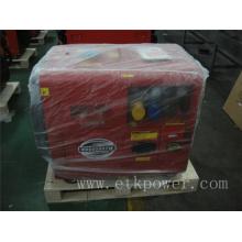 Rojo y negro diesel de color soldador conjunto generador (dwg6ln)