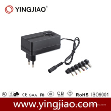 Adaptateur de puissance variable 24W DC avec CE