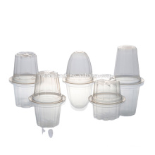 High- barrier multilayers plastic cup jelly for retorted foods