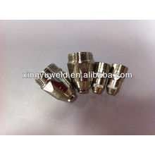 Электрод для плазменной сварки и наконечники