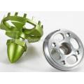 OEM high precision aluminum die casting for lighting parts machining parts