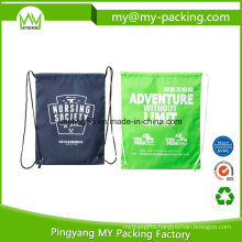 Custom Non Woven or Polyester Tote Children Drawstring Bag