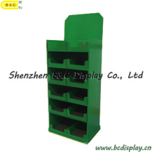 Candle Cardboard Display Shelf, Paper Pallet Display Stand (B&C-A077)