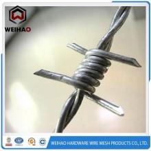 Caliente venta alambre longitud por rollo / valla de alambre de púas
