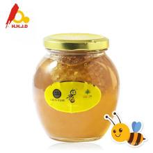 Abelha natural de flores de mel
