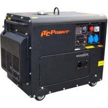 Energía del generador diesel silencioso 5kw