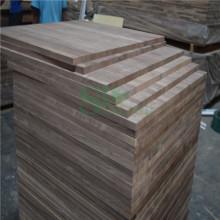 Mejor calidad el Panel pegado borde nuez para muebles de madera