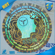 Etiqueta de holograma 3d de alta qualidade, adesivo de holograma vazio de segurança de impressão uv