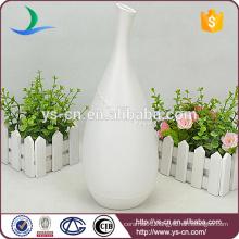 YSv0154-01 ceramic porcelain white floor vase for decoration