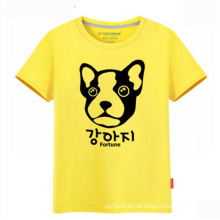 100% Baumwolle Custom Ihr eigenes Logo Großhandel Mode Männer T-Shirt
