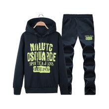 Wholesale Custom Fleece Sports Wear Set with Hood
