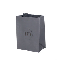 Luxury Grey Foil dan Embossing Paper Bag